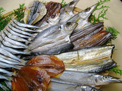 朝獲れ鮮魚の干物セット