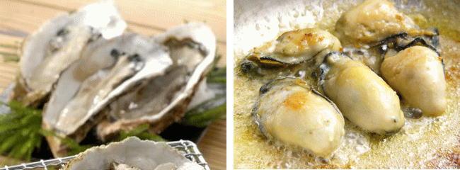 焼き牡蠣 バター炒め