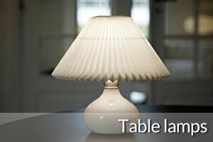 レクリントテーブルランプ