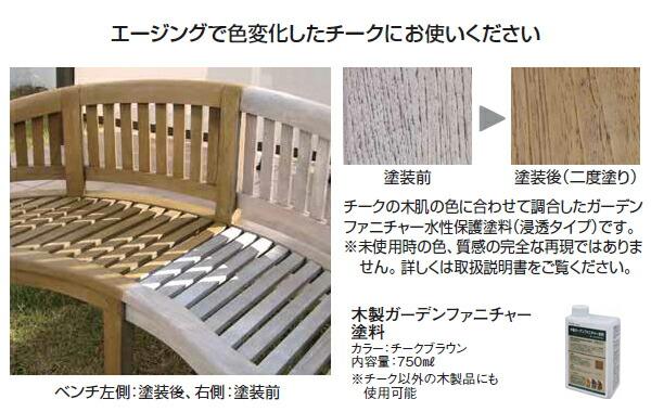 木製ガーデンファニチャー塗料
