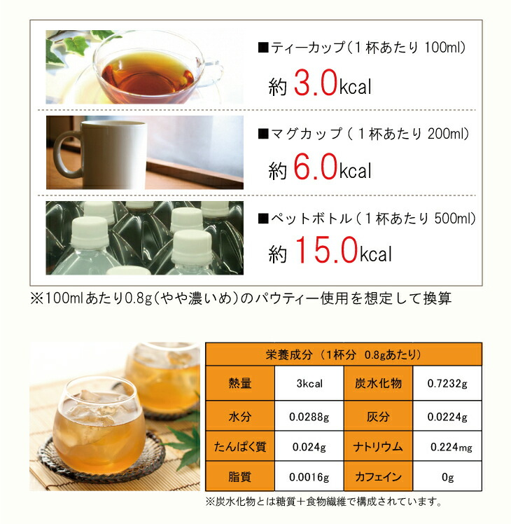 インスタントティー:柳屋茶楽  パウティー 麦茶 80g