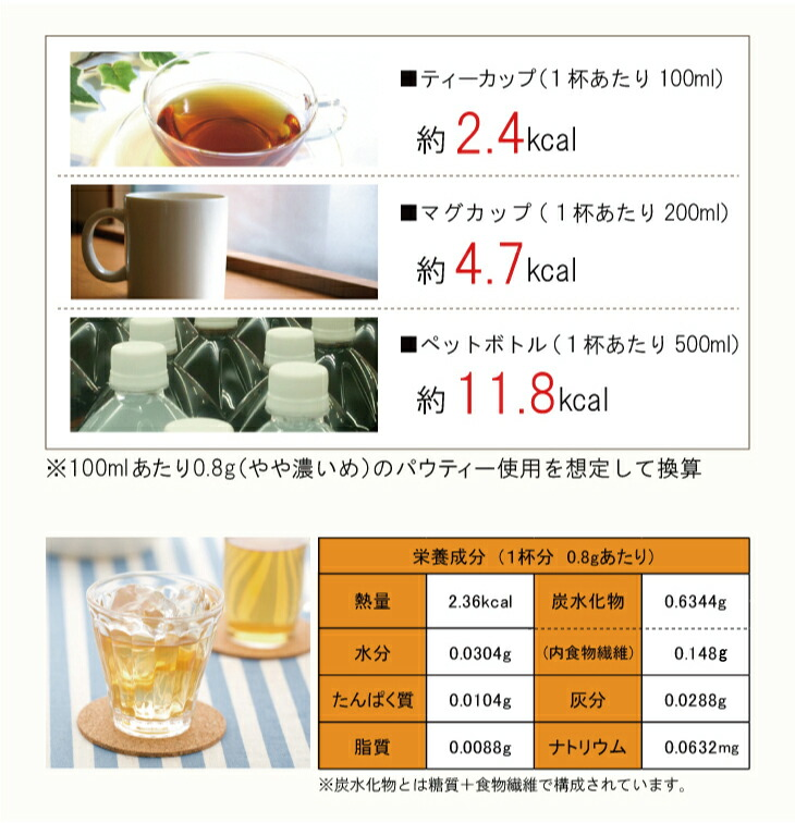 インスタントティー:柳屋茶楽  パウティー マテ茶 レモン 80g