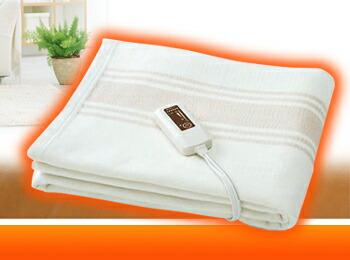 電磁波カット 電気掛敷 オーガニックコットン毛布イメージ