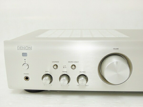 DENON PMA-390RE(K) Integrated Amplifier DC check OK Working Properly F/