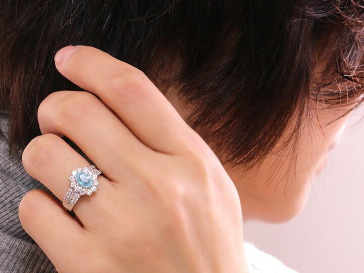 ハートシェイプ ダイヤモンドネックレス
