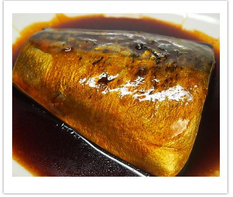 塩サバの煮込み