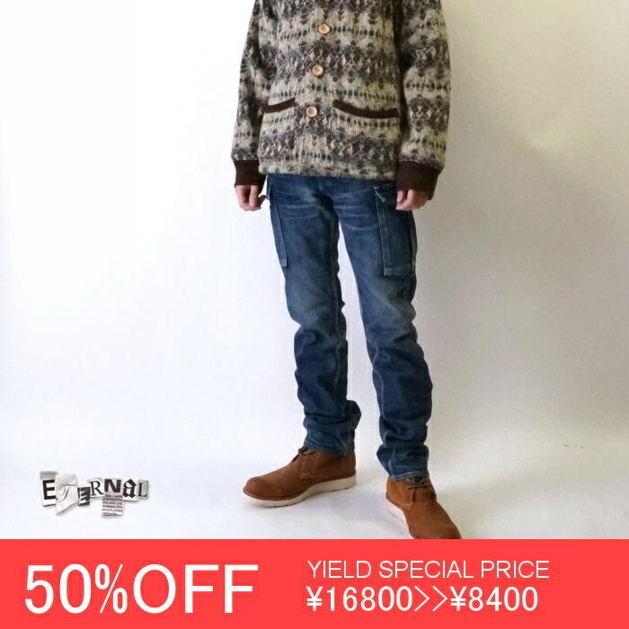 【ETERNAL(エターナル)】 52012 ウールメルトン ナイロン切替 スタジャン