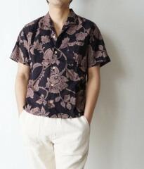 【備中倉敷工房 倉】オープン半袖シャツ