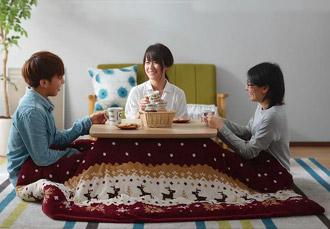 こたつテーブル 75×75cm