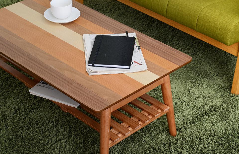 幅80cm 美しいデザインテーブル