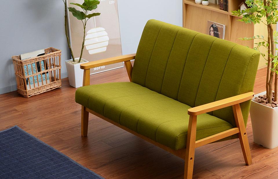 カラー豊富なデザインソファ