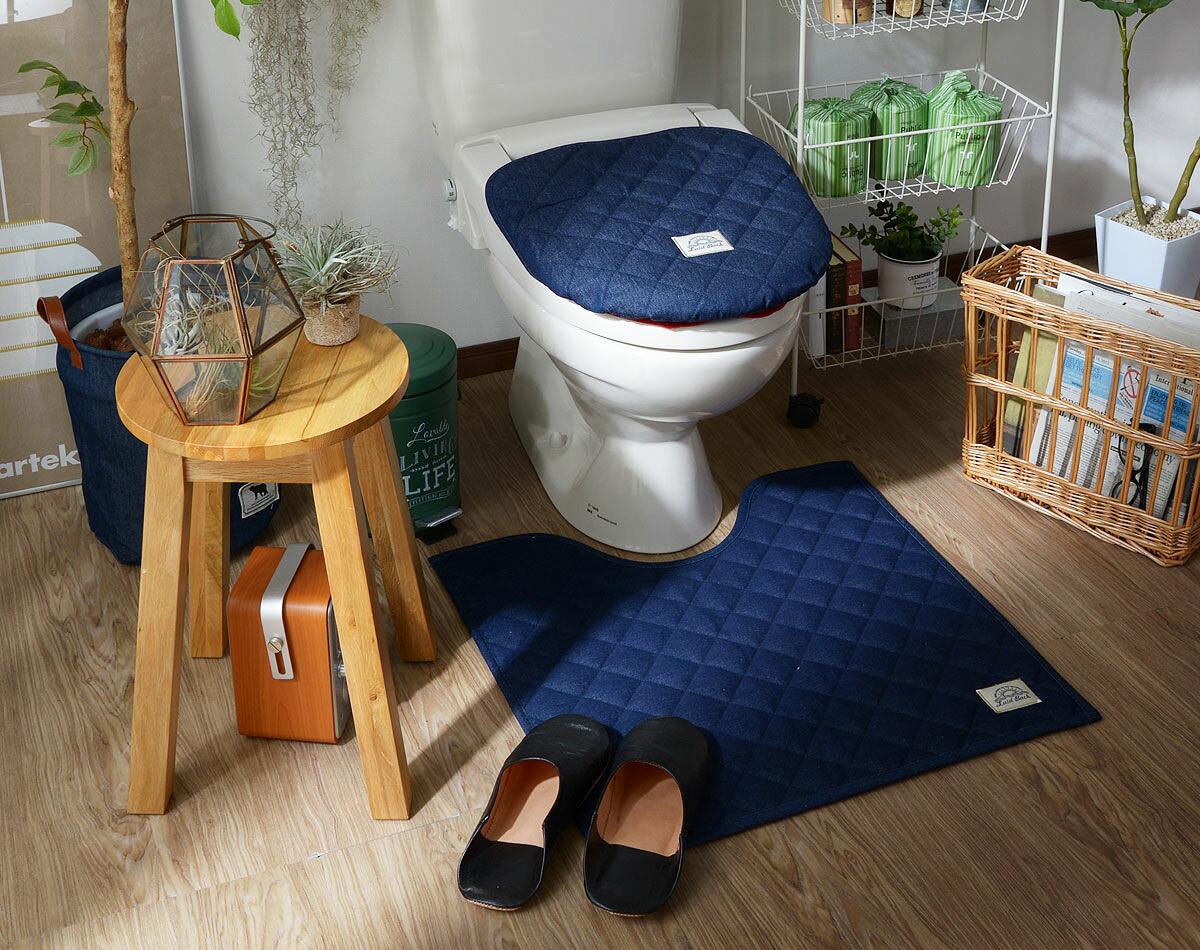 トイレの中もお洒落なデニムスタイル レイドバック