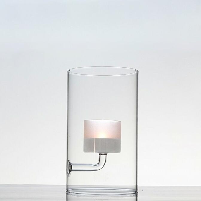 TEA LIGHT CANDLE HOLDER FROST
