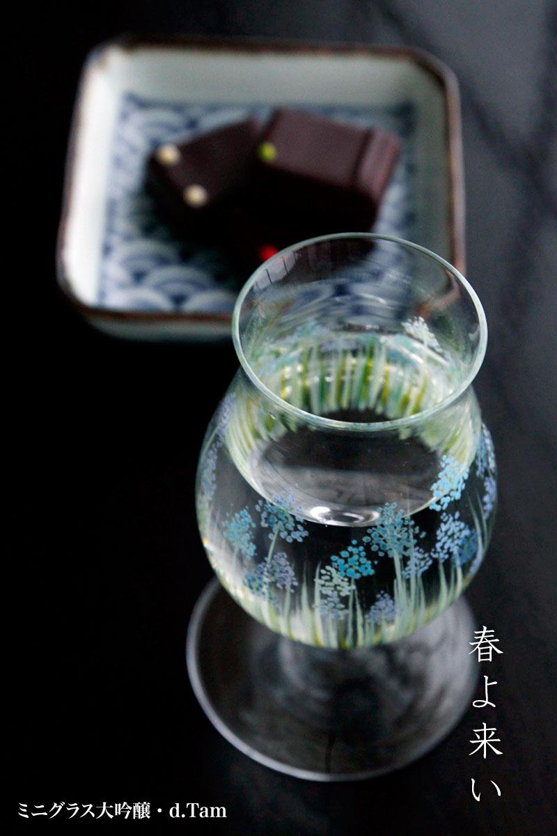 ミニグラス大吟醸・d.Tam|和食器の愉しみ・工芸店ようび