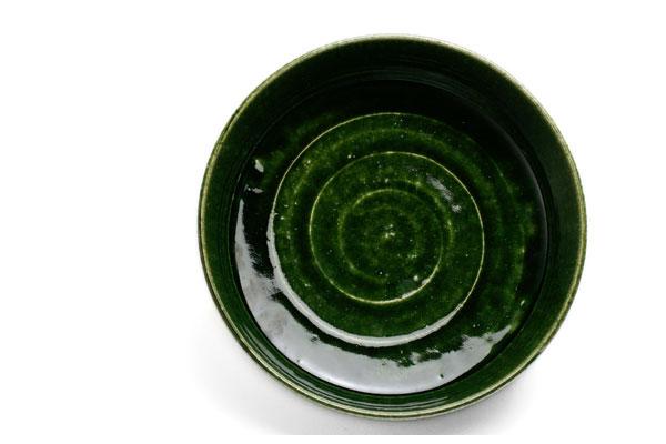 織部鉦鉢風大鉢・長森慶 和食器の愉しみ・工芸店ようび