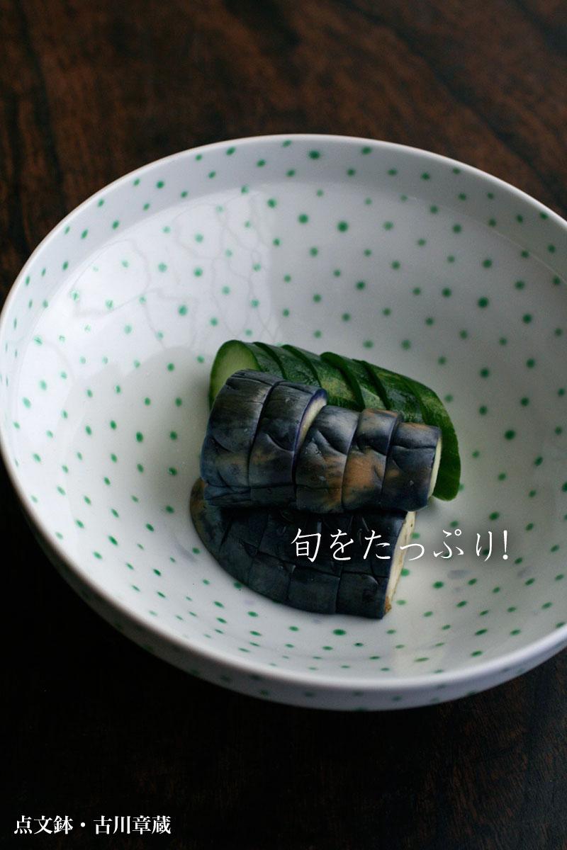 点文鉢・古川章蔵|和食器の愉しみ・工芸店ようび