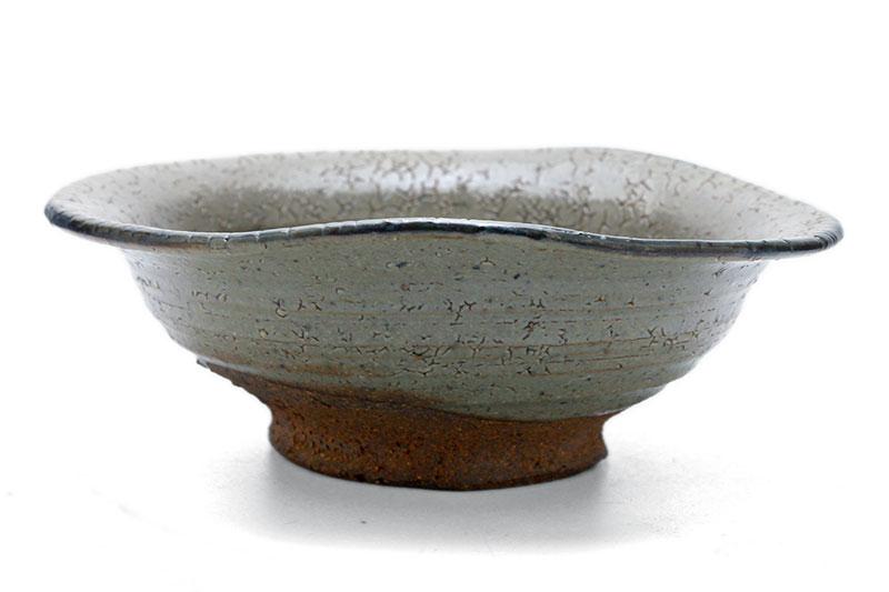 斑6寸端取鉢・吉井史郎|和食器の愉しみ・工芸店ようび