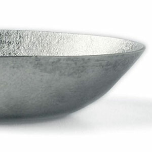 錫器・錫楕円深鉢・ゆり工房