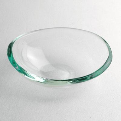 ガラス:クリアガラス楕円ボールS・安達征良