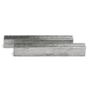 錫器:錫箸置・8.6cm・フォークレスト・ゆり工房