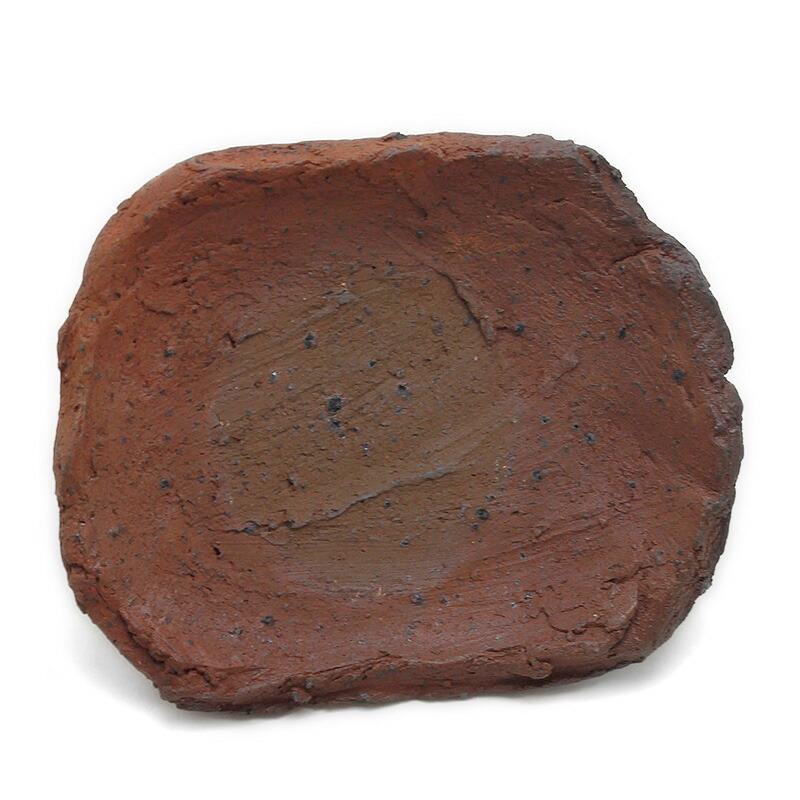 焼〆:南蛮脚付長四方小皿・川淵直樹