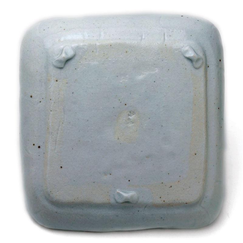 白釉角小皿・16cm・有松進