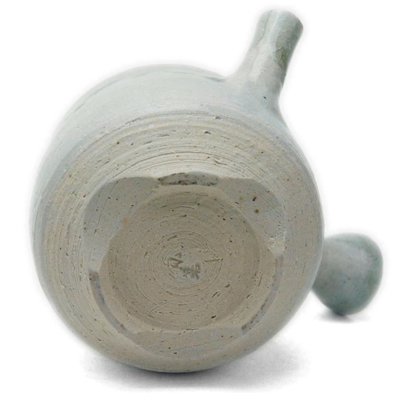 灰釉ビードロ土瓶蒸・有松進