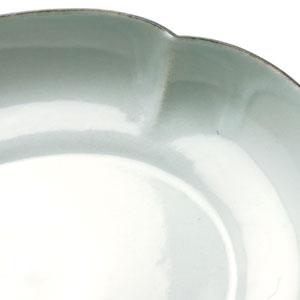 白磁口紅木瓜皿・水野克俊