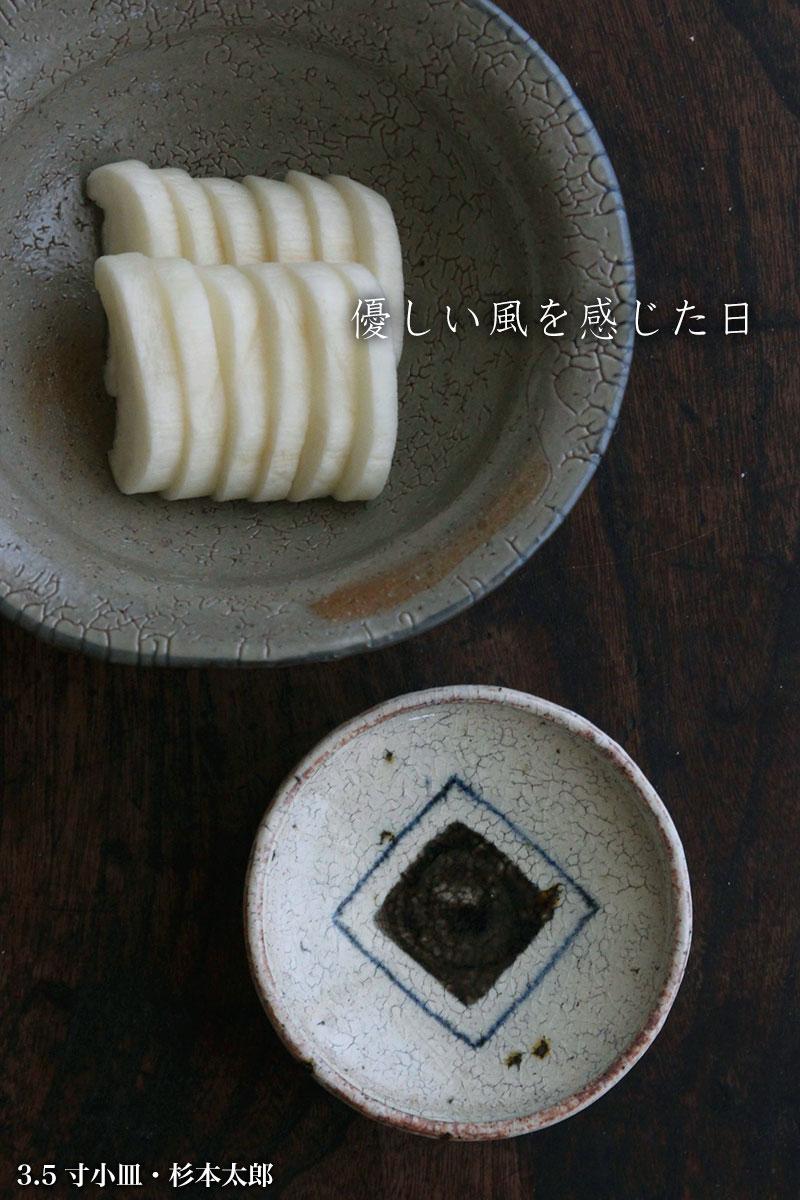 3.5寸小皿・杉本太郎|和食器の愉しみ・工芸店ようび