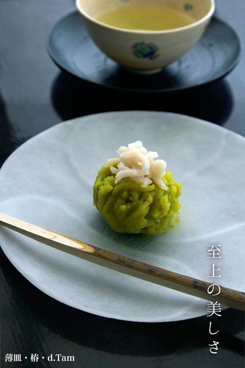 薄皿・椿・d.Tam|和食器の愉しみ・工芸店ようび