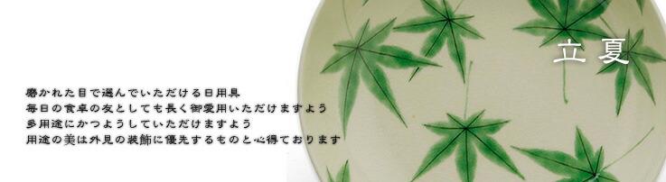 京焼:色絵青もみじ紋鉢・伏原博之・#新しい日常・#おうち時間