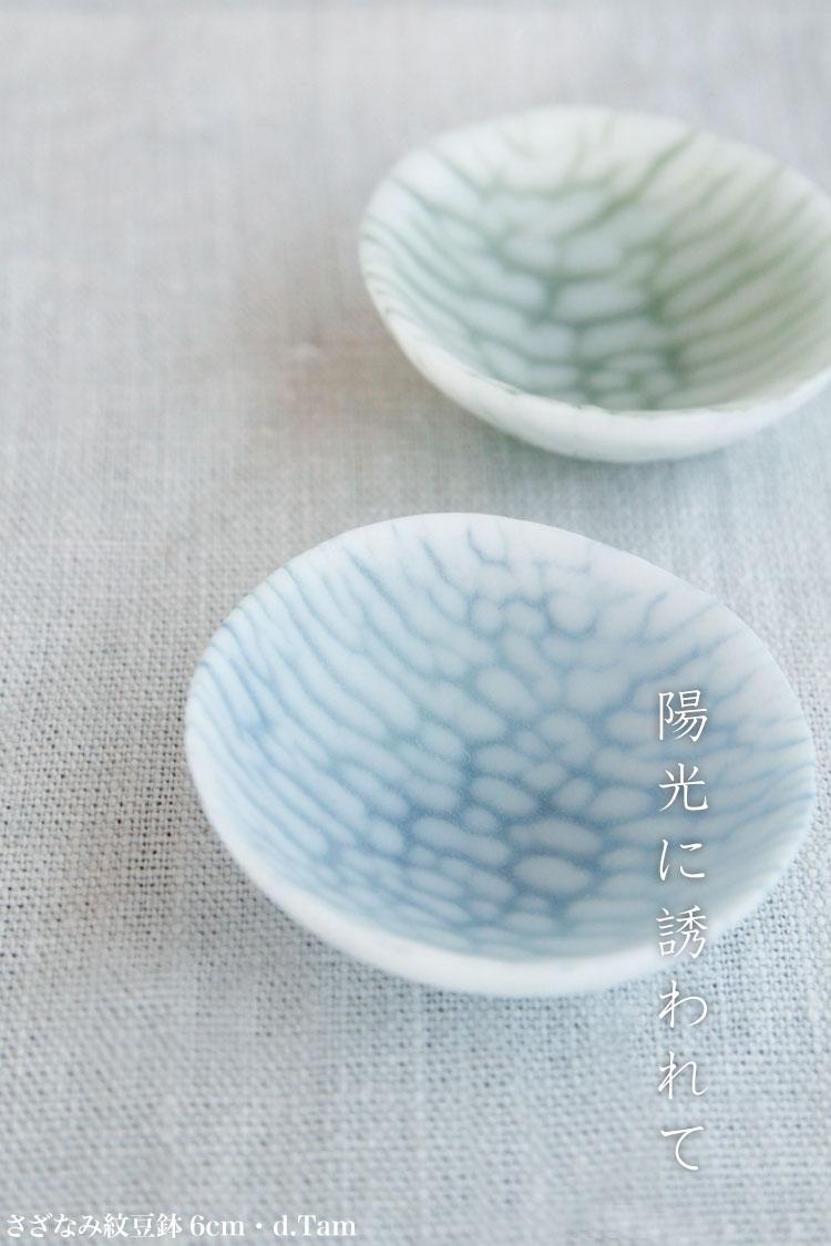 さざなみ紋小皿15cm・d.Tam