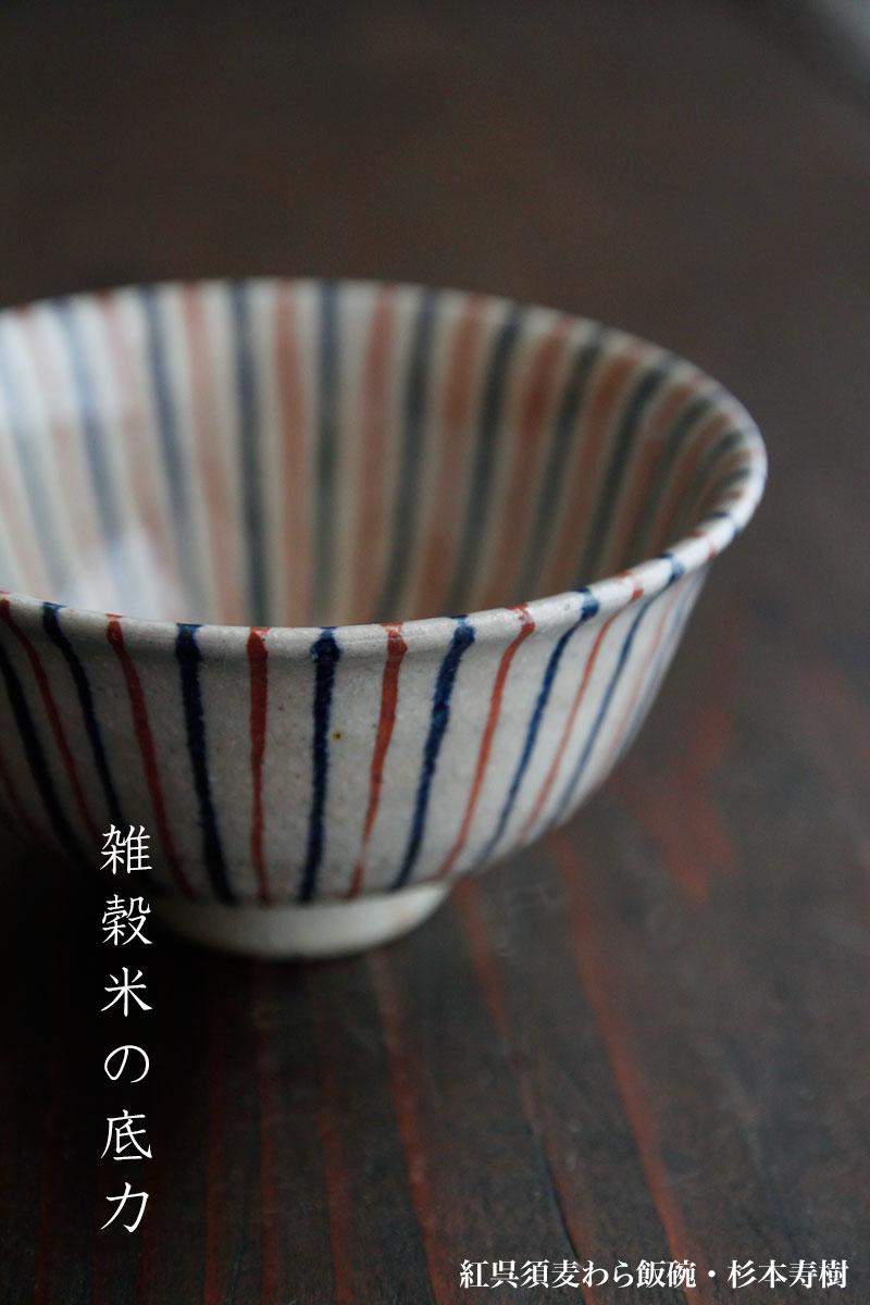 紅十草飯碗・杉本寿樹
