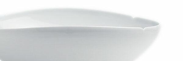 白磁|白磁五弁輪花小鉢・水野克俊