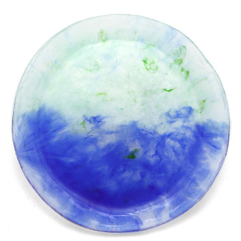 ガラス:パート・ド・ヴェール大皿L大泉恵