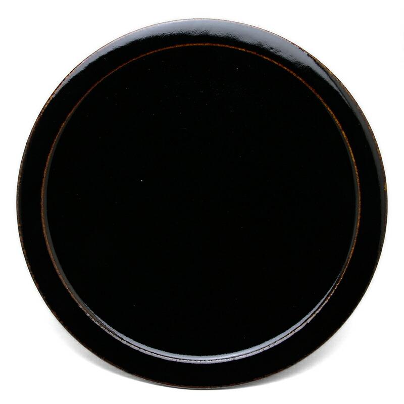 あめ〓釉皿・杉本寿樹
