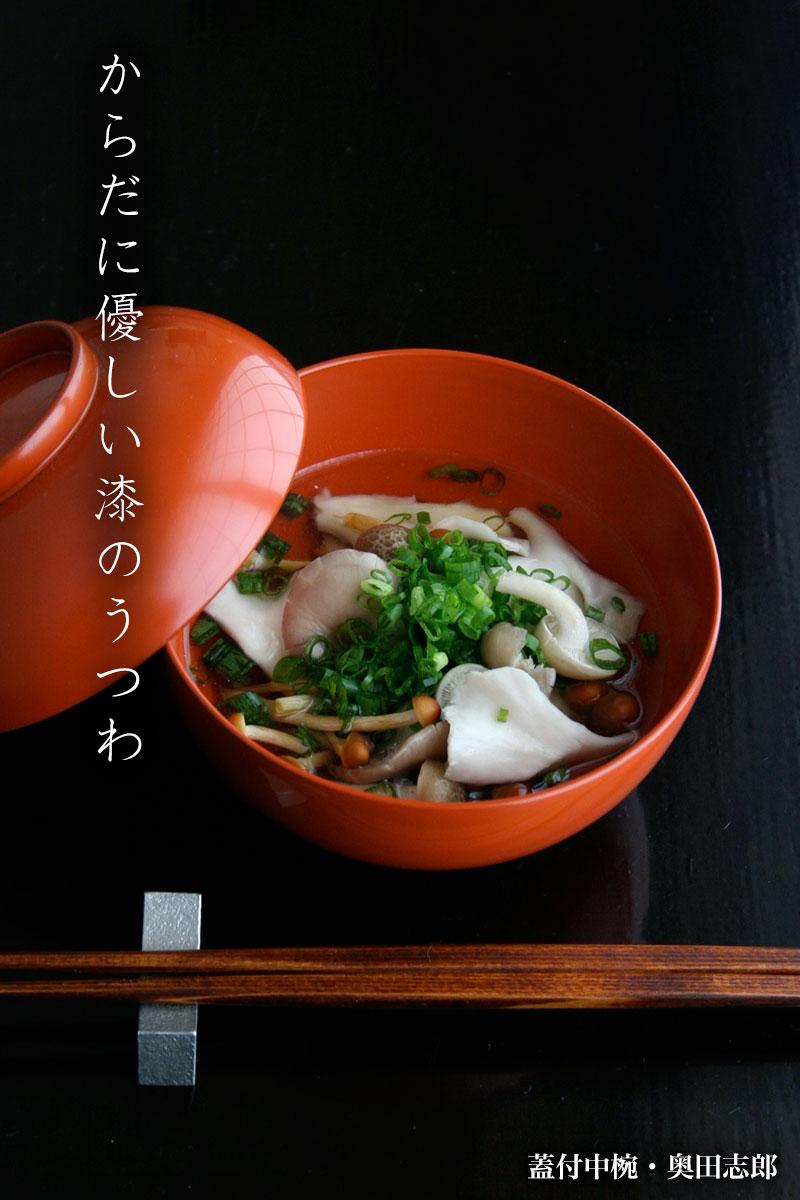 蓋付中椀・奥田志郎 和食器の愉しみ・工芸店ようび