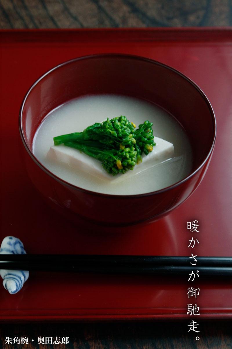 【一汁一菜】朱角椀・奥田志郎