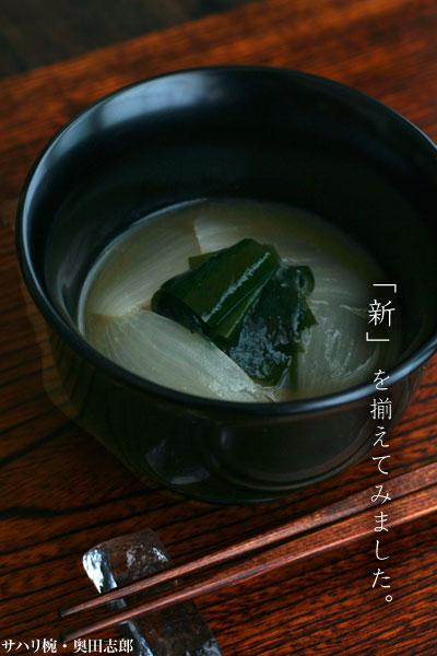 【一汁一菜】サハリ椀・奥田志郎