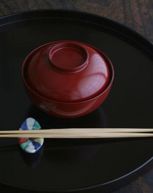 蓋付中椀・奥田志郎