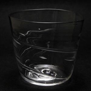 ガラス:たゆらそば猪口・植木栄造