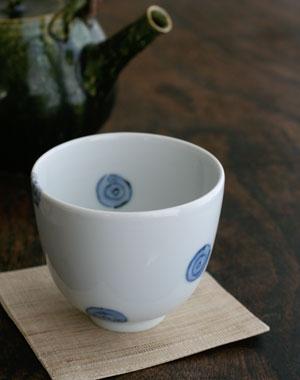 麻コースター・茶・ 加藤裕子