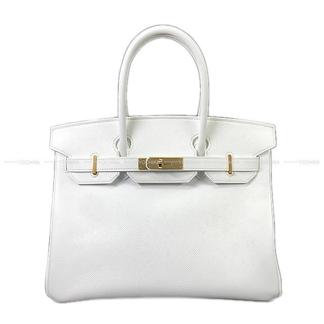 HERMES Hermes Birkin 30 handbag white white Epson gold metal fittings new  article mint condition af50cd5bd3282