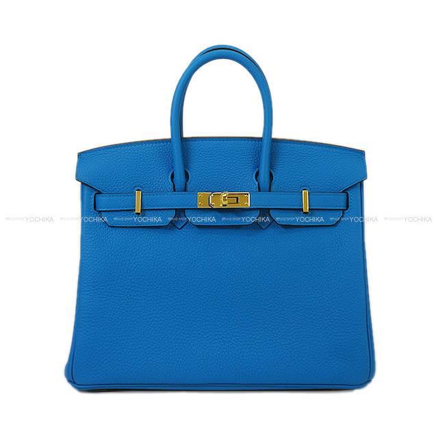 1edc91eaa9dd HERMES Hermes handbag Birkin 25 blue Zanzibar (ザンジバールブルー) トゴゴールド metal  fittings new article