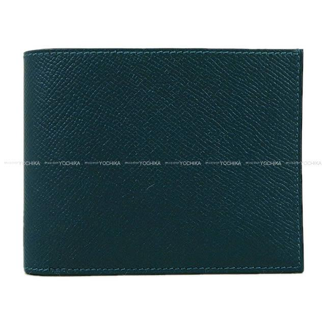 d74d519262d3 100% of HERMES Hermes folio compact wallet citizen twill
