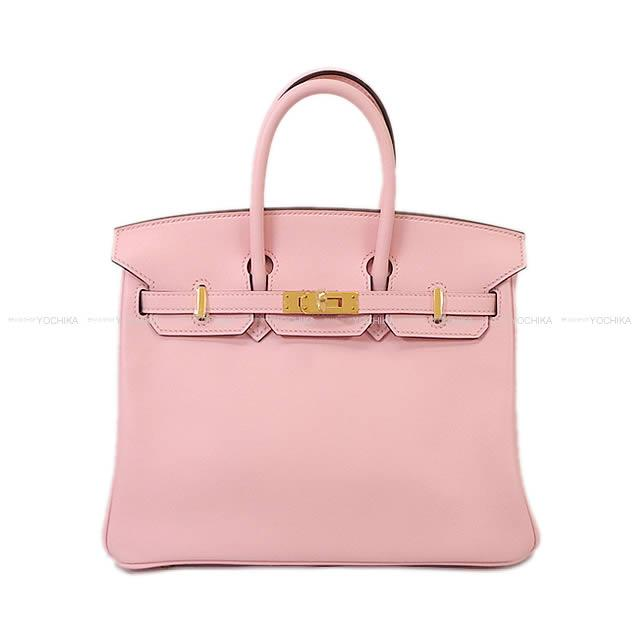 HERMES Hermes Birkin 25 Rose cherry tree swift gold metal fittings new  article mint condition a4543d12e9