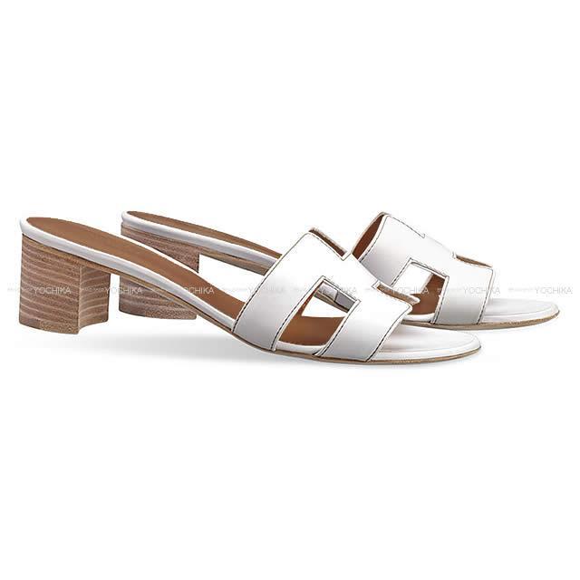 5b03be741bd7 HERMES Hermes Lady's H motif sandals