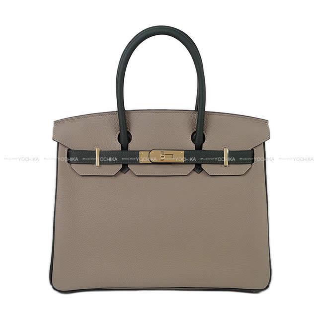 ad63c998250b HERMES Hermes handbag special order Birkin 30 グリアスファルト X ヴェールフォンセトゴゴールド  metal fittings are new