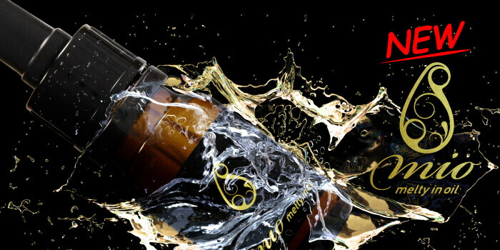 新発売 mio(melty in oil) ヒアルロン酸 in oil