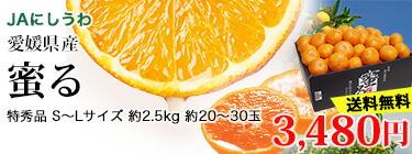 蜜る S〜L 2.5kg